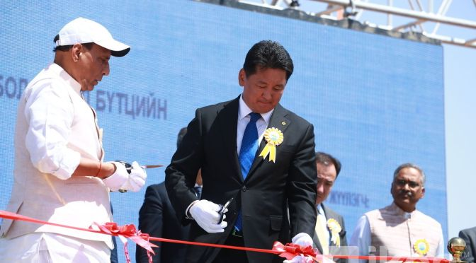 Mongolia's first oil refinery goes under construction